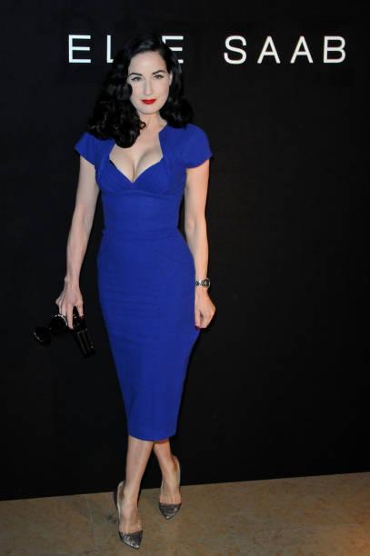 Paris Fashion Week Haute Couture S/S 2010 - Elie Saab - Inside Arrivals:ニュース(壁紙.com)