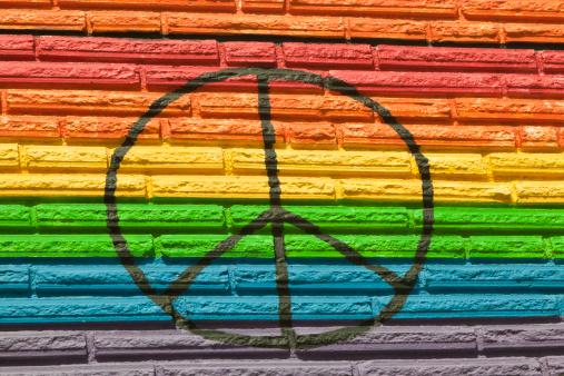 虹「レインボーカラー、すべてのお客様に平等、平和の象徴」:スマホ壁紙(6)