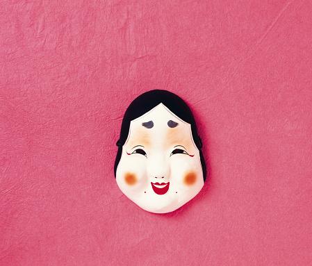 日本の祭り「Setsubun mask」:スマホ壁紙(3)