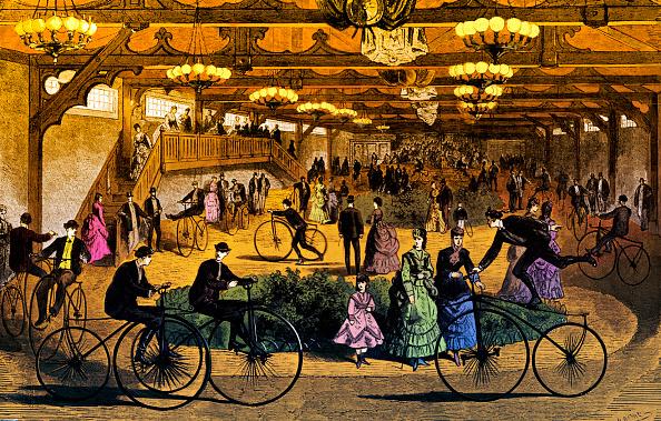 歴史「Parisian cycling arena, on Rue Jean-Goujon,  Paris」:写真・画像(13)[壁紙.com]