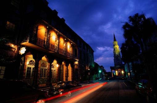 Charleston - South Carolina「Tower and Street in Charleston, South Carolina」:スマホ壁紙(18)