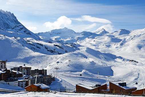 Val Thorens「Val Thorens, ski resort」:スマホ壁紙(11)