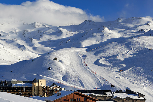 Val Thorens「Val Thorens, ski resort」:スマホ壁紙(8)