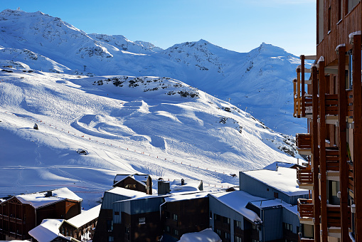 Val Thorens「Val Thorens, ski resort」:スマホ壁紙(6)