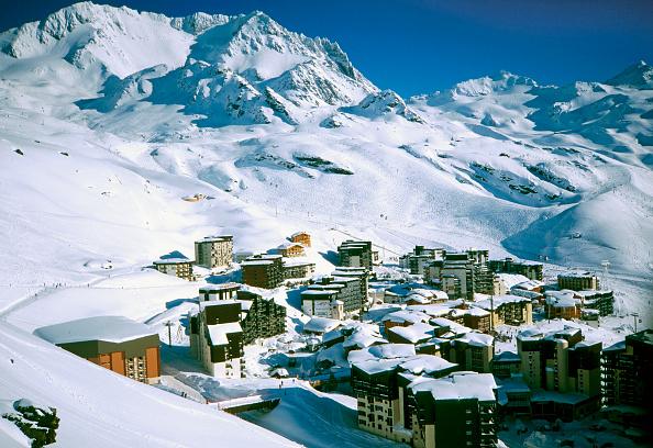 Ski Slope「Val Thorens Ski Resort, France」:写真・画像(12)[壁紙.com]