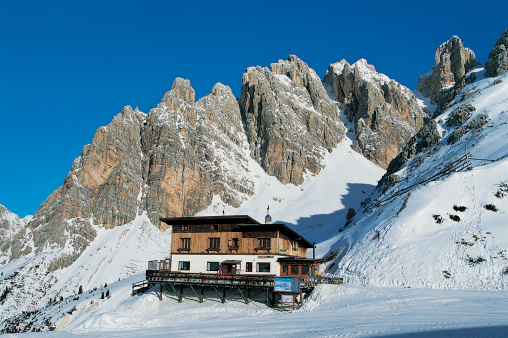 Ski Resort「Rifugio son Forca, Cortina, Dolomites, Italy」:スマホ壁紙(9)