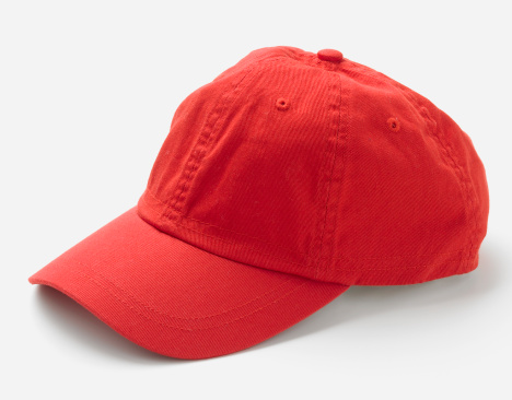 縁なし帽子「Red hat, side view」:スマホ壁紙(5)