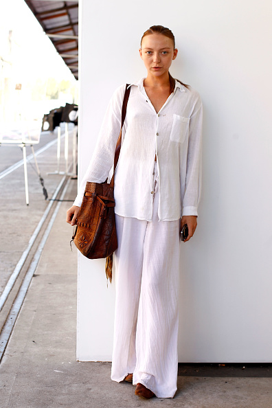 White Color「Street Style Day 4 - MBFWA S/S 2013」:写真・画像(13)[壁紙.com]