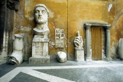 Masterpiece「Fragments of the Constantine Statue, Palazzo Dei Conservatori, Rome, Italy」:スマホ壁紙(4)
