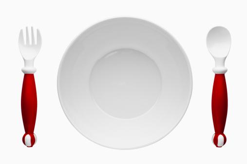 子供時代「Children's plastic cutlery and plate」:スマホ壁紙(8)