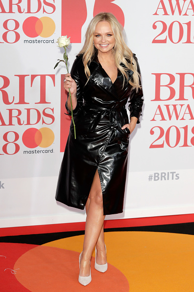 Attending「The BRIT Awards 2018 - Red Carpet Arrivals」:写真・画像(1)[壁紙.com]