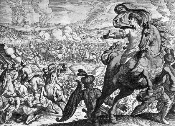 胸を打つ「Defeat Of Darius」:写真・画像(8)[壁紙.com]