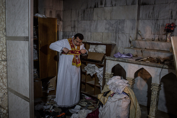 Religious Mass「Christian Towns Newly Liberated From ISIL Celebrate Christmas」:写真・画像(17)[壁紙.com]