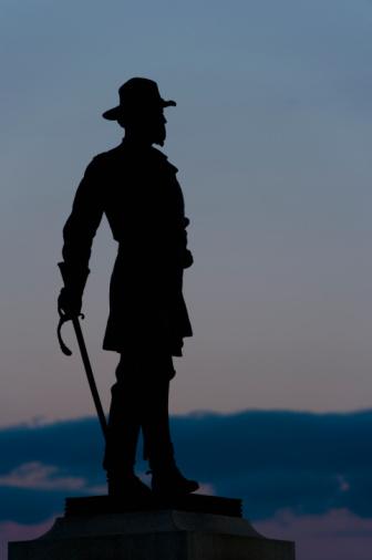 Daniel Gi「Statue of Brigadier general Alexander Webb」:スマホ壁紙(0)