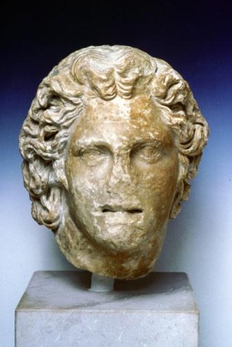 Bust - Sculpture「Portrait bust of Alexander the Great」:スマホ壁紙(18)