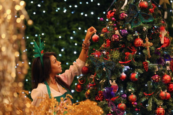 Christmas Decoration「Selfridges Launch Their Christmas Store」:写真・画像(1)[壁紙.com]