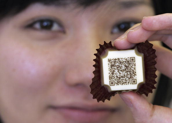 Binary Code「Two-dimentional Code Printed On Chocolate For Mobile Phone Users」:写真・画像(19)[壁紙.com]