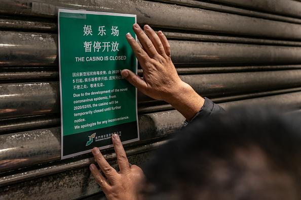 Closing「Concern In Macau As The Wuhan Coronavirus Spreads」:写真・画像(4)[壁紙.com]