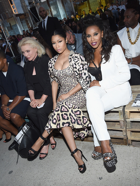 Larry Harry「Givenchy - Front Row - Spring 2016 New York Fashion Week」:写真・画像(8)[壁紙.com]