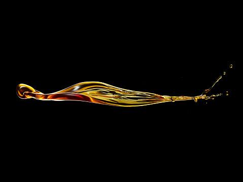 Motion「Golden water liquid Splash」:スマホ壁紙(8)