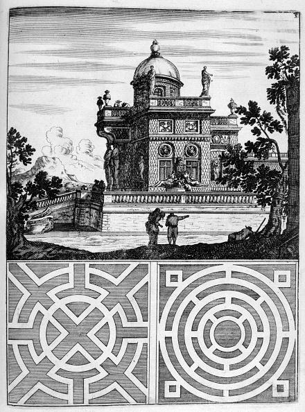 Ornamental Garden「House and garden design, 1664. Artist: Georg Andreas Bockler」:写真・画像(7)[壁紙.com]