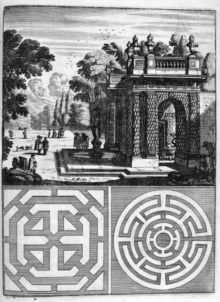 Ornamental Garden「House and garden design, 1664. Artist: Georg Andreas Bockler」:写真・画像(12)[壁紙.com]