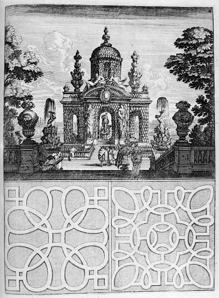 Ornamental Garden「House and garden design, 1664. Artist: Georg Andreas Bockler」:写真・画像(18)[壁紙.com]