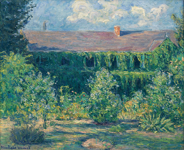 Oil Painting「House And Garden Of Claude Monet Artist: Hoschedé Monet」:写真・画像(10)[壁紙.com]