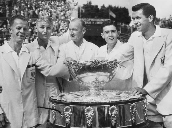 Lew Hoad「1953 Davis Cup」:写真・画像(12)[壁紙.com]