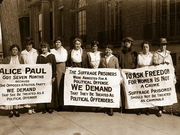 Banner - Sign「Suffragettes」:写真・画像(7)[壁紙.com]