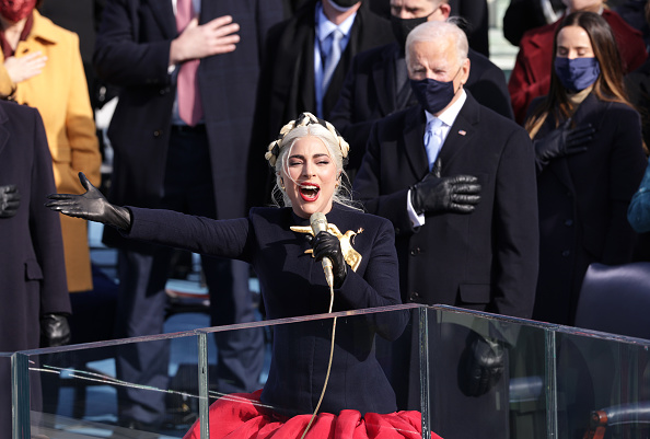 Lady Gaga「Joe Biden Sworn In As 46th President Of The United States At U.S. Capitol Inauguration Ceremony」:写真・画像(15)[壁紙.com]