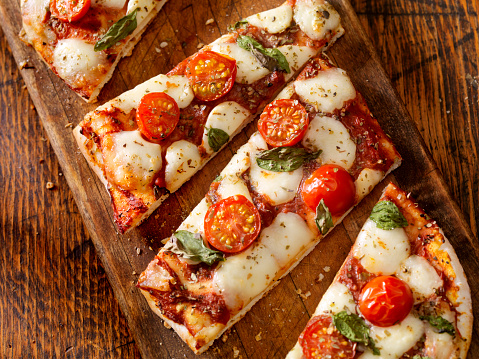 Rectangle「Margherita Flat Bread Pizza」:スマホ壁紙(8)