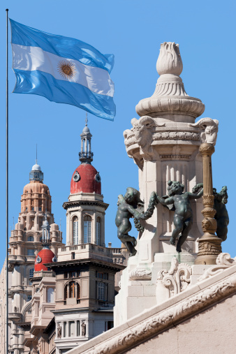 Argentinian Flag「Argentina Buenos Aires Av. de Mayo Palacio Barolo」:スマホ壁紙(2)