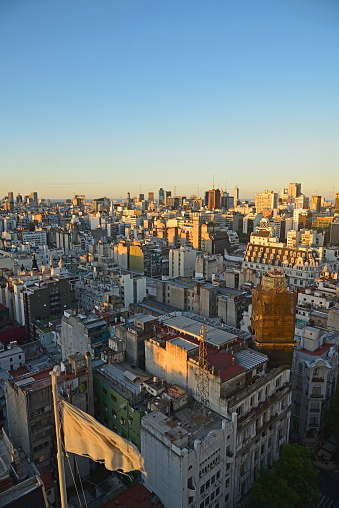 Buenos Aires「Argentina, Buenos Aires, Elevated view over Balvanera neighborhood」:スマホ壁紙(14)