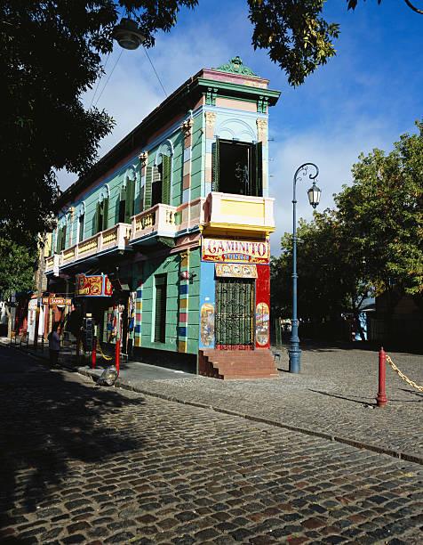 Argentina, Buenos Aires, La Boca district, El Caminito:スマホ壁紙(壁紙.com)