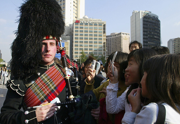 Cultures「The British Scots Guards' Royal Band Play In Seoul」:写真・画像(9)[壁紙.com]