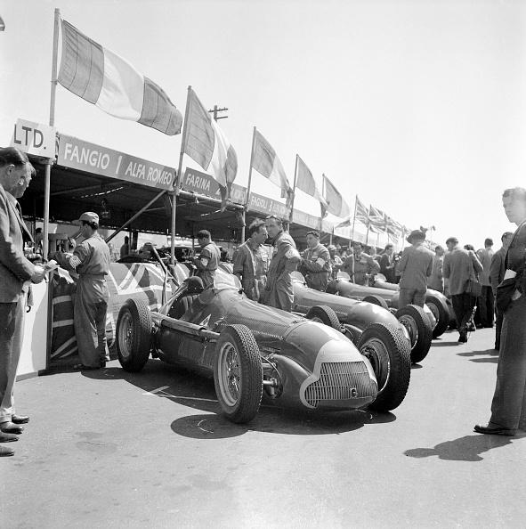1950~1959年「The British Grand Prix」:写真・画像(10)[壁紙.com]