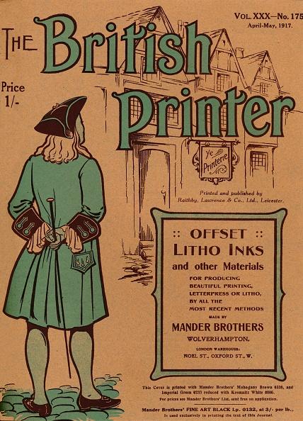 Sibling「The British Printer Vol Xxx - No 175 April-May, 1917 Cover, 1917」:写真・画像(12)[壁紙.com]
