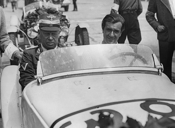 The British Racing Driver A.F.P. Fane Wins On Bmw In The Small Race Cars Division  The International Eifel Race. Nürburgring. 13Th June 1937. Photograph.:ニュース(壁紙.com)