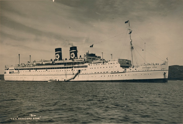 Star Shape「British passenger ship SS Arandora Star of the Blue Star Line, 1936」:写真・画像(4)[壁紙.com]