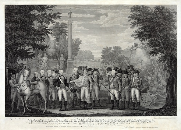 Surrendering「The British Surrendering Their Arms To General Washington After The Defeat At York Town ?」:写真・画像(15)[壁紙.com]