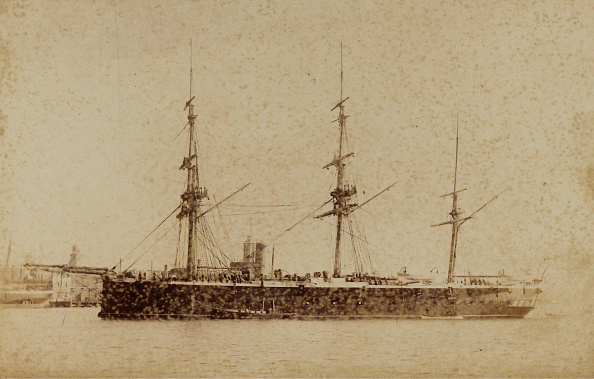 1880-1889「Ship H. M. S. Invincible」:写真・画像(2)[壁紙.com]