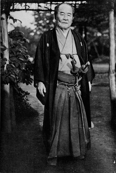 Photography「'Viscount Shibusawa, (1840-1931) wearing his samurai swords', c1900, (1921)」:写真・画像(3)[壁紙.com]