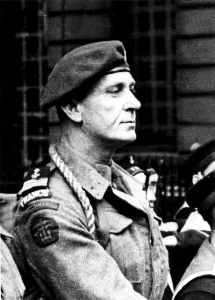 Special Forces「Commandant Philippe Kieffer (1899-1962), french officer who joined the Free French naval Forces in june 1940, he led the 1st marine commandos bataillion during the Normandy Landings in june 1944」:写真・画像(6)[壁紙.com]
