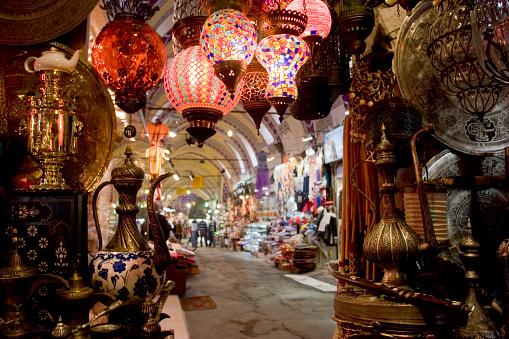 Turkey - Middle East「Grand Bazaar in Istanbul」:スマホ壁紙(11)