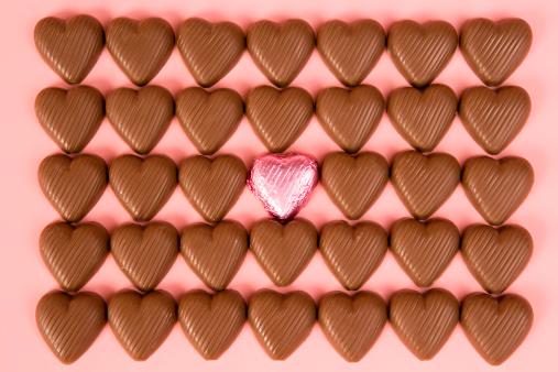 バレンタイン「チョコレート」:スマホ壁紙(3)