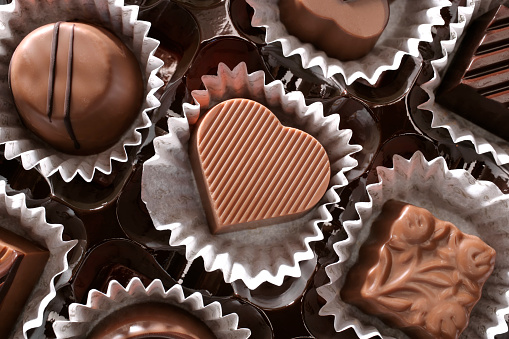 Valentine's Day「chocolates and love」:スマホ壁紙(12)