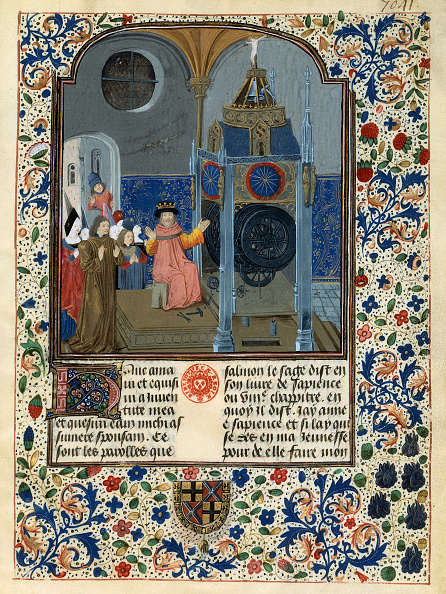 Sphere「Louis De Gruuthuse Before An Astronomical Clock (From: Horloge De Sapience By Henri Suso)」:写真・画像(16)[壁紙.com]