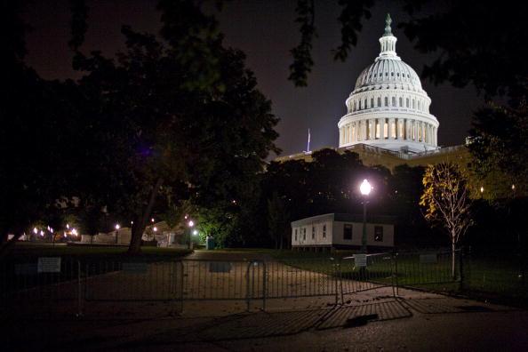 Dow Jones Industrial Average「Congress Reacts To The Failure Of Bailout Legislation」:写真・画像(8)[壁紙.com]