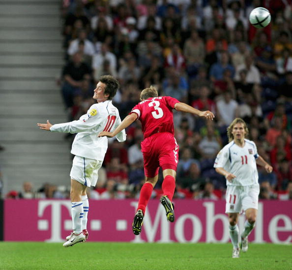 International Team Soccer「Euro 2004:Czech Republic v Denmark」:写真・画像(12)[壁紙.com]